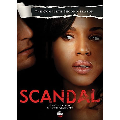 Scandal - The Complete Season 2 DVD (for NZ Buyers)