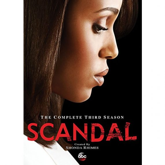 Scandal - The Complete Season 3 DVD (for NZ Buyers)