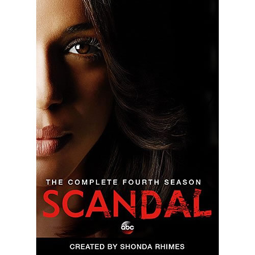 Scandal - The Complete Season 4 DVD (for NZ Buyers)