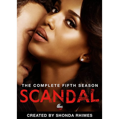 Scandal - The Complete Season 5 DVD (for NZ Buyers)