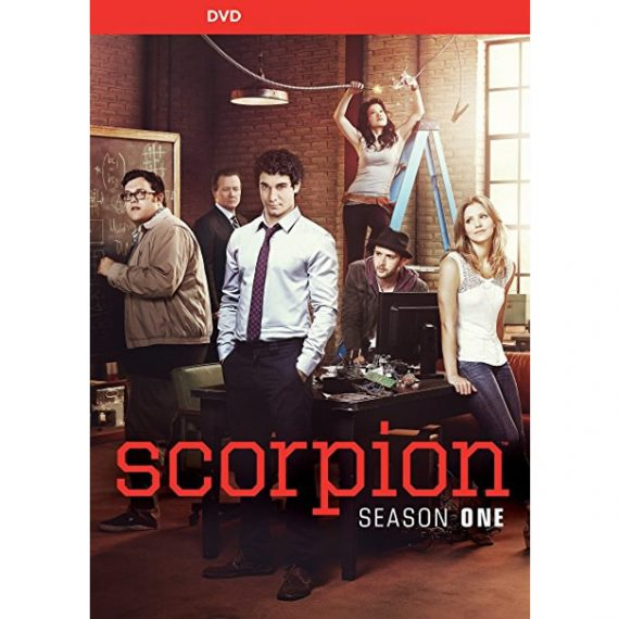 Scorpion - The Complete Season 1 DVD (for NZ Buyers)