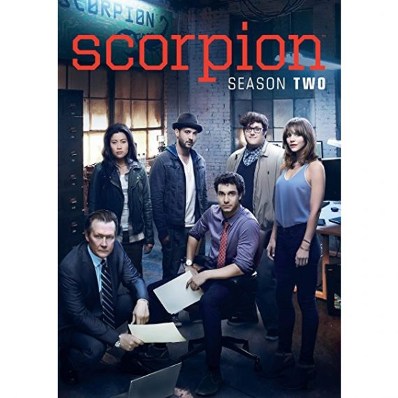 Scorpion - The Complete Season 2 DVD (for NZ Buyers)