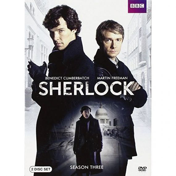 Sherlock - The Complete Season 3 DVD (for NZ Buyers)