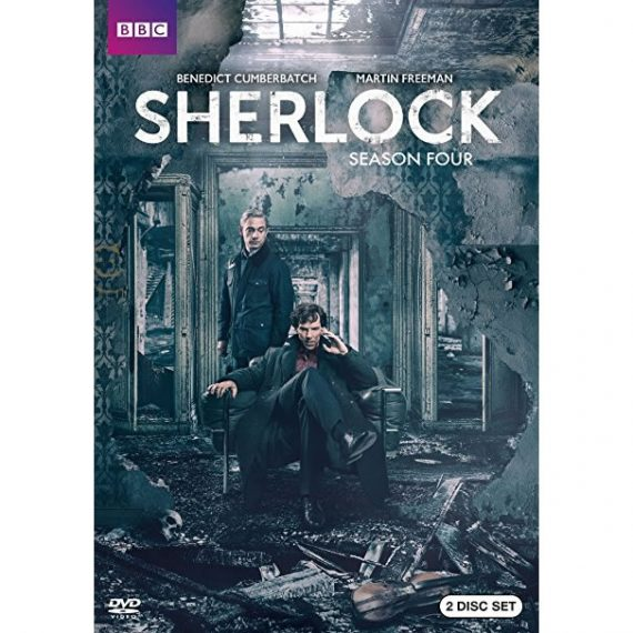 Sherlock - The Complete Season 4 DVD (for NZ Buyers)