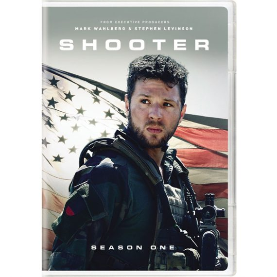 Shooter - The Complete Season 1 DVD (for NZ Buyers)