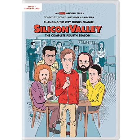 Silicon Valley - The Complete Season 4 DVD (for NZ Buyers)