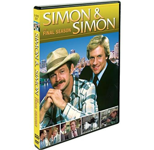 Simon & Simon - The Complete Season 8 DVD (for NZ Buyers)