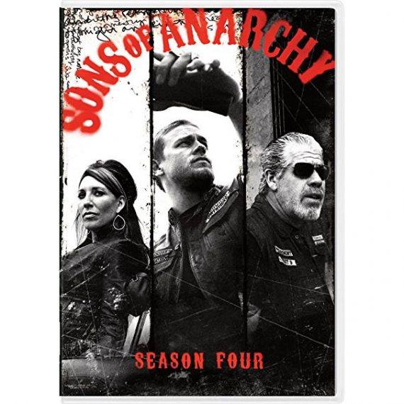 Sons of Anarchy - The Complete Season 4 DVD (for NZ Buyers)