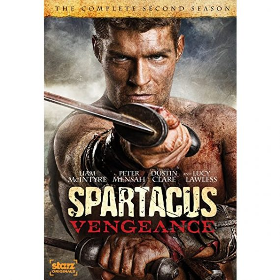 Spartacus: Vengeance - The Complete Season 2 DVD (for NZ Buyers)