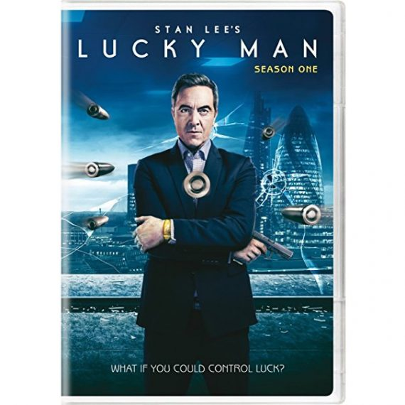 Stan Lee's Lucky Man - The Complete Season 1 DVD (for NZ Buyers)
