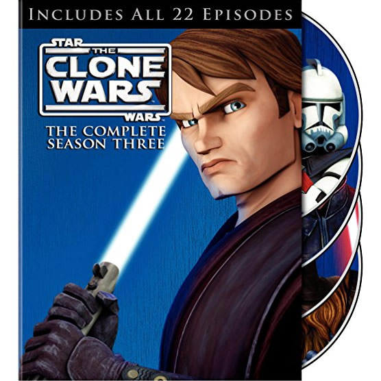Star Wars: The Clone Wars - The Complete Season 3 DVD (for NZ Buyers)