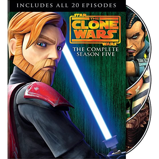 Star Wars: The Clone Wars - The Complete Season 5 DVD (for NZ Buyers)