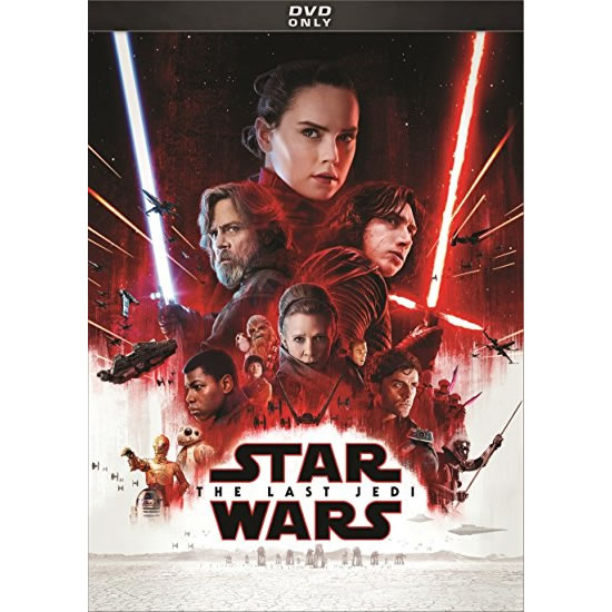 Star Wars: The Last Jedi DVD (for NZ Buyers)