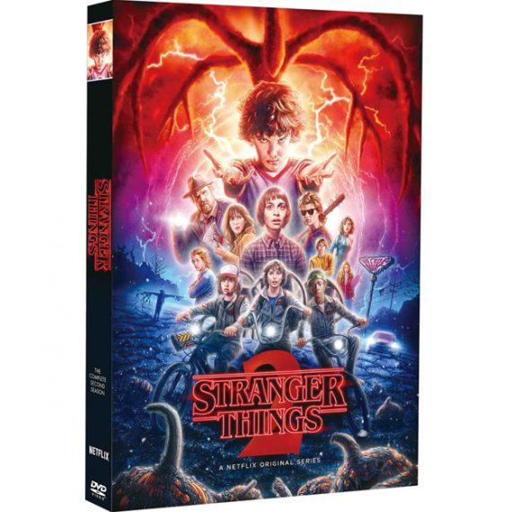Stranger Things - The Complete Season 2 DVD (for NZ Buyers)