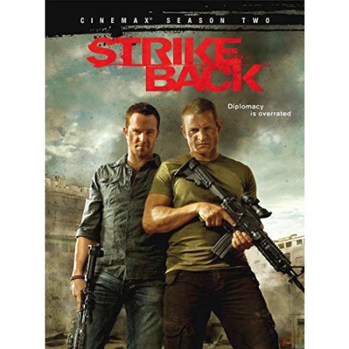 Strike Back - The Complete Season 2 DVD (for NZ Buyers)