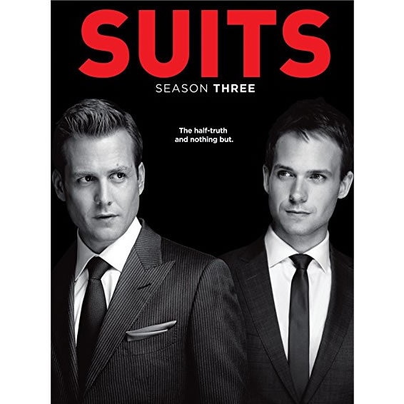 Suits - The Complete Season 3 DVD (for NZ Buyers)