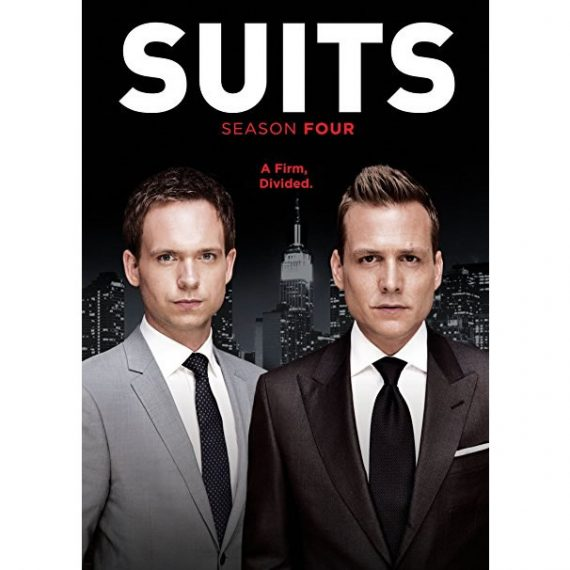 Suits - The Complete Season 4 DVD (for NZ Buyers)
