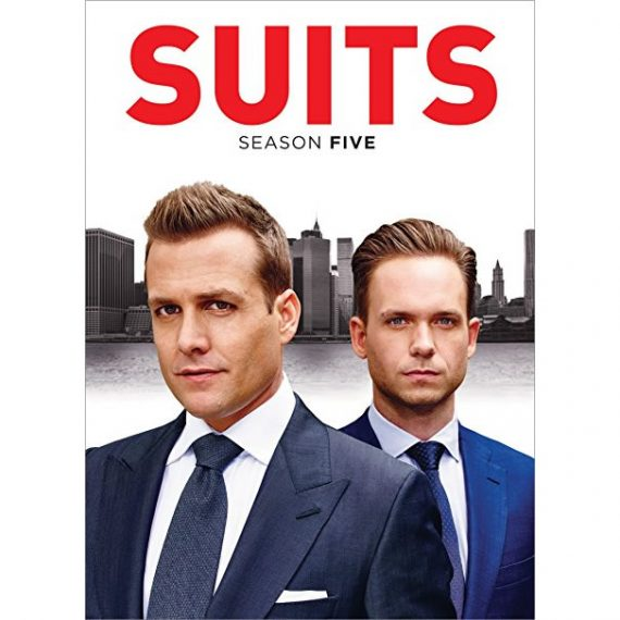 Suits - The Complete Season 5 DVD (for NZ Buyers)
