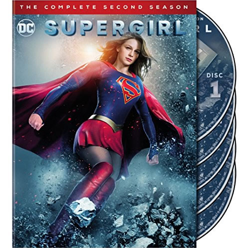 Supergirl - The Complete Season 2 DVD (for NZ Buyers)