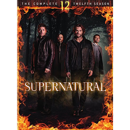 Supernatural - The Complete Season 12 DVD (for NZ Buyers)