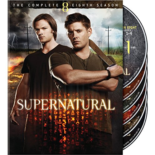 Supernatural - The Complete Season 8 DVD (for NZ Buyers)