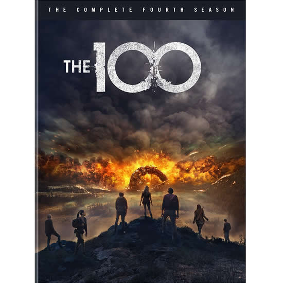 The 100 - The Complete Season 4 DVD (for NZ Buyers)