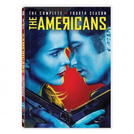 The Americans - The Complete Season 4 DVD (for NZ Buyers)