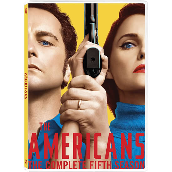 The Americans - The Complete Season 5 DVD (for NZ Buyers)