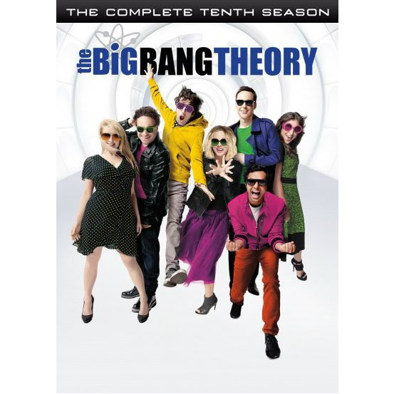 The Big Bang Theory - The Complete Season 10 DVD (for NZ Buyers)