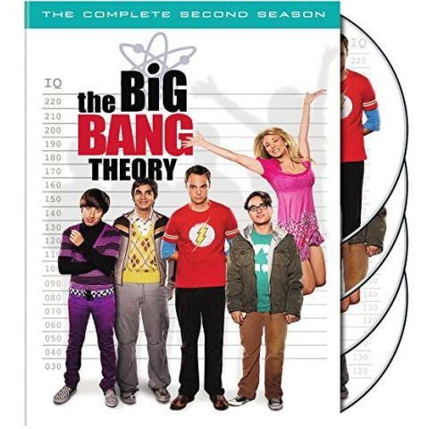 The Big Bang Theory - The Complete Season 2 DVD (for NZ Buyers)