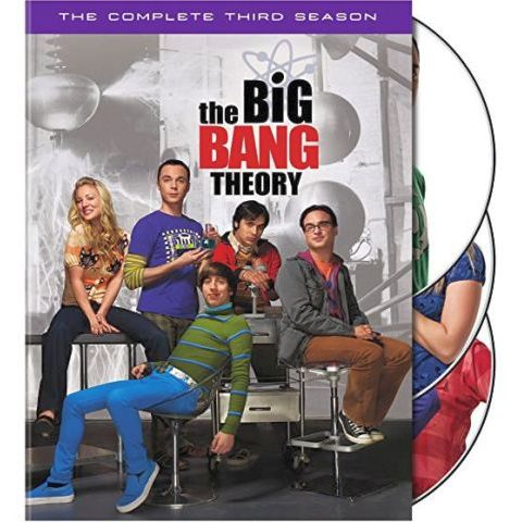 The Big Bang Theory - The Complete Season 3 DVD (for NZ Buyers)