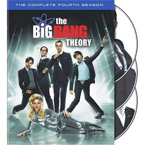 The Big Bang Theory - The Complete Season 4 DVD (for NZ Buyers)