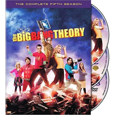 The Big Bang Theory - The Complete Season 5 DVD (for NZ Buyers)