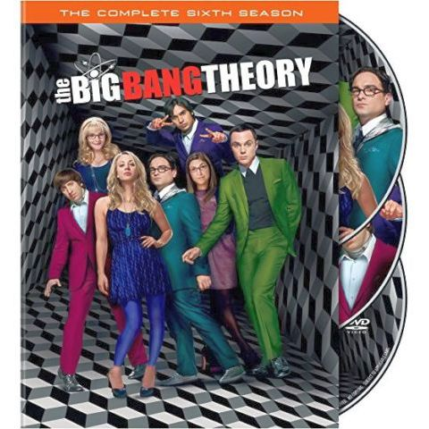 The Big Bang Theory - The Complete Season 6 DVD (for NZ Buyers)