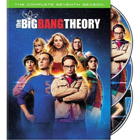 The Big Bang Theory - The Complete Season 7 DVD (for NZ Buyers)