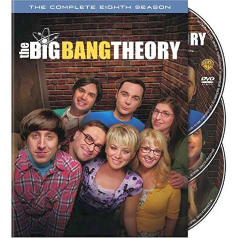 The Big Bang Theory - The Complete Season 8 DVD (for NZ Buyers)