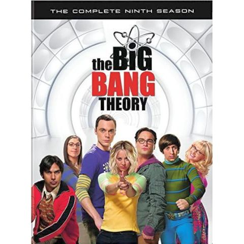 The Big Bang Theory - The Complete Season 9 DVD (for NZ Buyers)
