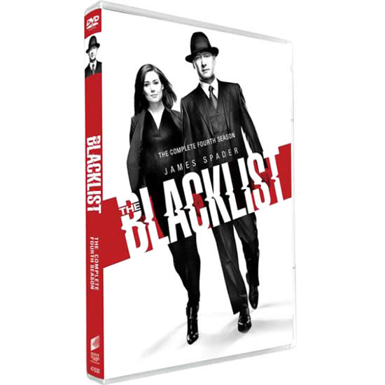 The Blacklist - The Complete Season 4 DVD (for NZ Buyers)