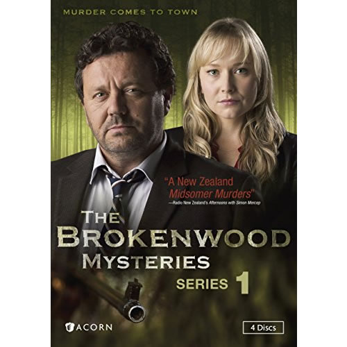 The Brokenwood Mysteries - The Complete Season 1 DVD (for NZ Buyers)