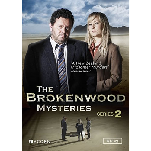 The Brokenwood Mysteries - The Complete Season 2 DVD (for NZ Buyers)