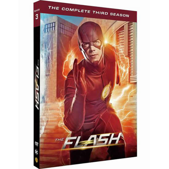 The Flash - The Complete Season 3 DVD (for NZ Buyers)