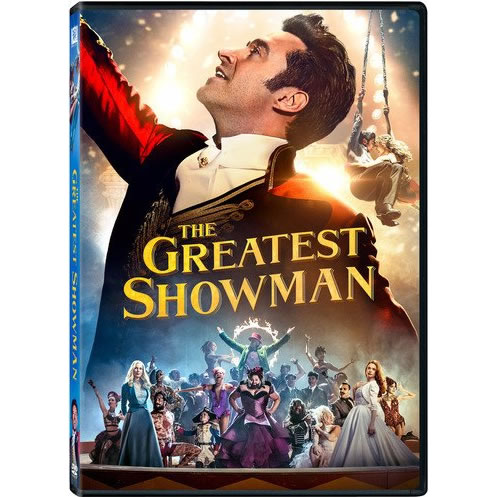The Greatest Showman DVD (for NZ Buyers)