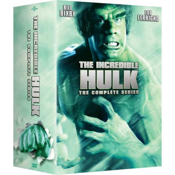 The Incredible Hulk - The Complete Series (for NZ Buyers)