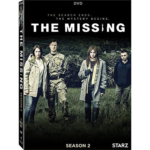 The Missing - The Complete Season 2 DVD (for NZ Buyers)