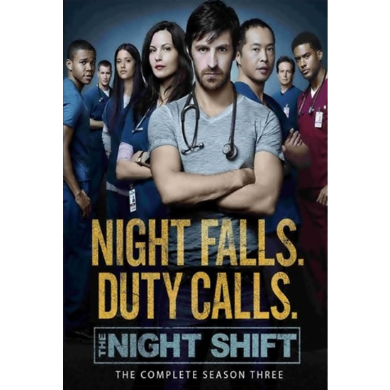 The Night Shift - The Complete Season 3 DVD (for NZ Buyers)