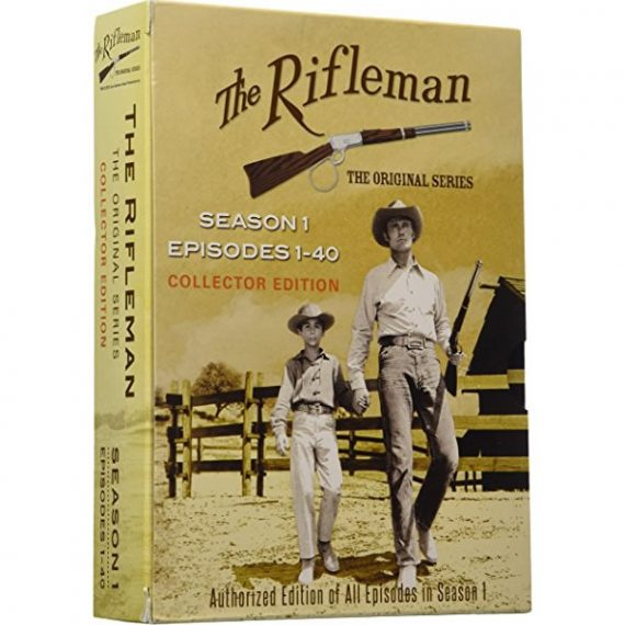 The Rifleman Official - The Complete Season 1 DVD (for NZ Buyers)