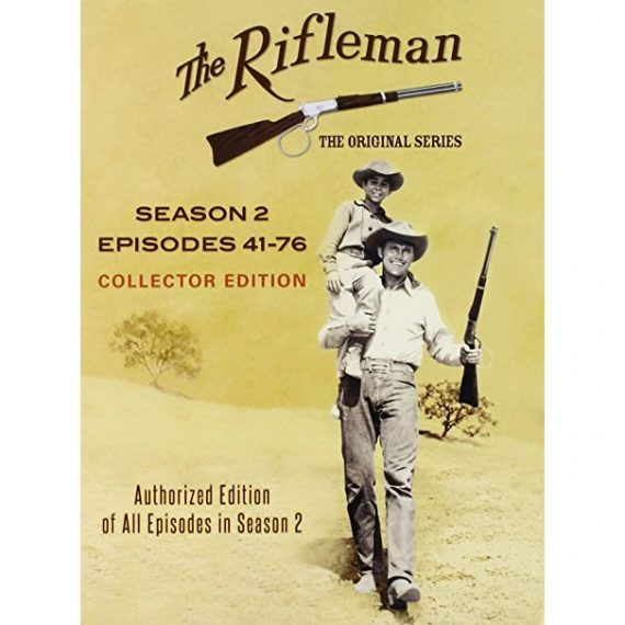 The Rifleman Official - The Complete Season 2 DVD (for NZ Buyers)