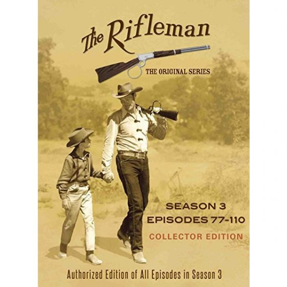 The Rifleman Official - The Complete Season 3 DVD (for NZ Buyers)