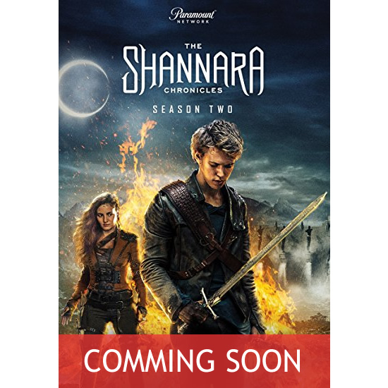 The Shannara Chronicles - The Complete Season 2 DVD (for NZ Buyers)