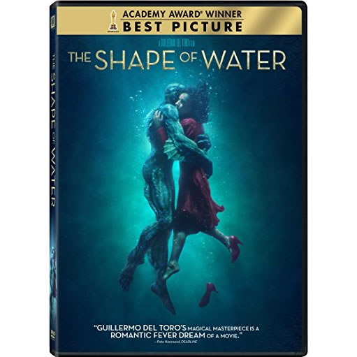 The Shape Of Water DVD (for NZ Buyers)